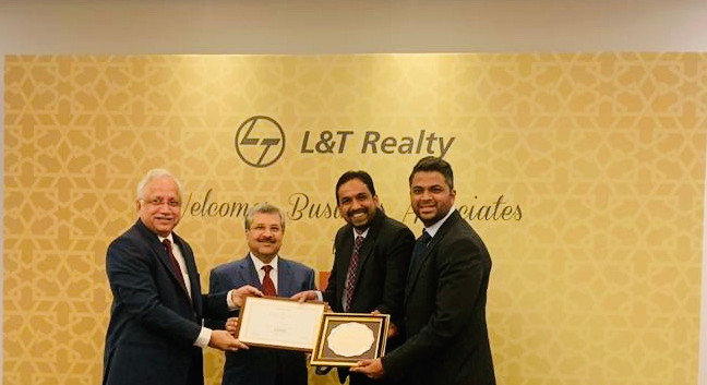 L&T Realty Club One Award