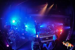 Behind band overhead