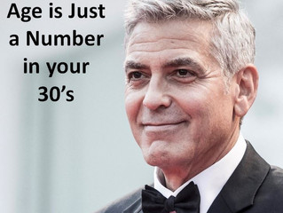 Age is Just a Number in your 30's