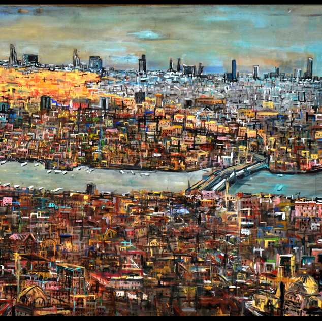 The cityscape of Istanbul