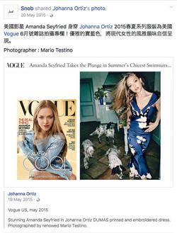 Snob Facebook_brand press