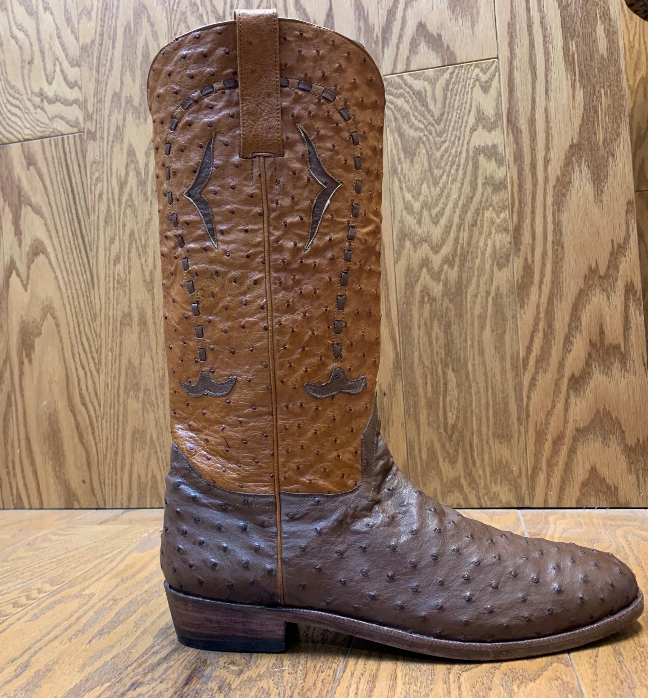 ostrich boot