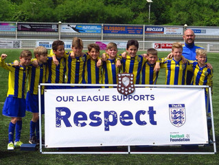 DIS sponsored Roseacre Rovers end the season as champions!!