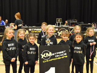 DIS have the pleasure of announcing sponsoring the award winning Mini D-FUSE dance troupe!
