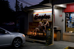 eagle gas station / muhlenberg county, kentucky / the kentucky documentary photographic project