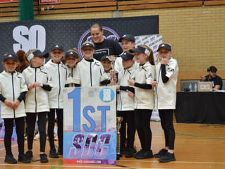 Mini D-fuse dance Troupe qualify for one of the biggest dance championships in Britain!