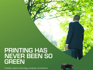 Printing has never been so green!