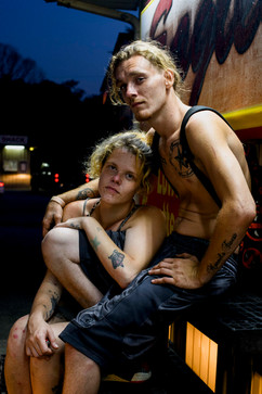 nacey and damien / muhlenberg county, kentucky / the kentucky documentary photographic project