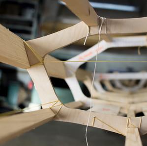 Wir entwickeln einen Skin-on-Frame Kajakbausatz