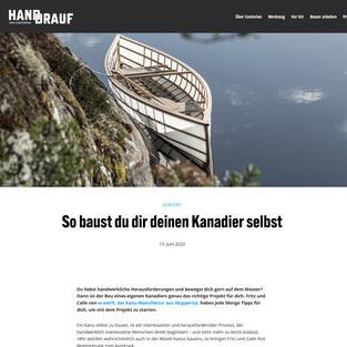 Hand-Drauf Magazin 2020