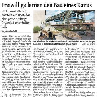 Beitrag Westdeutsche Zeitung