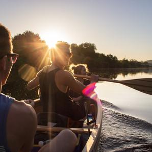 Erste Fahrt mit dem Wabnaki