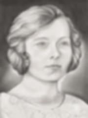 GENERATIONS 1 graphite and pastel portrait by STRIX