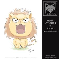 FIERCE LITTLE LION