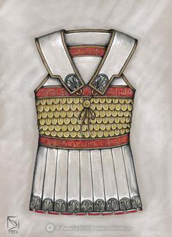 GREEK LINOTHORAX ARMOUR