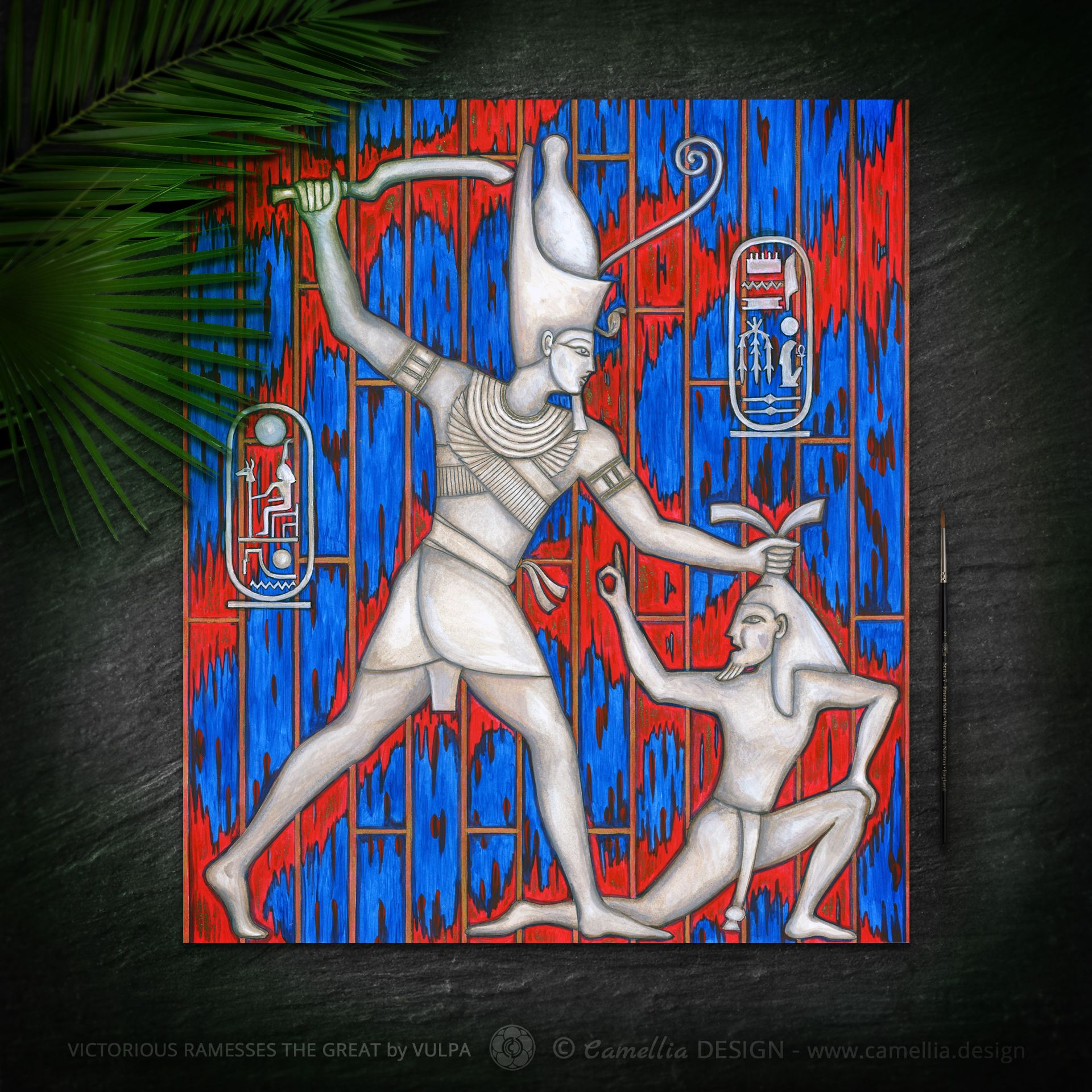 VICTORIOUS RAMSES THE GREAT DESIGN