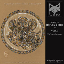 GORGON HOPLON SHIELD