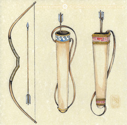 GREEK BOW & QUIVER