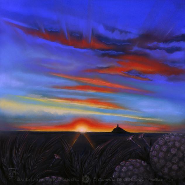 GLASTONBURY SOLSTICE SUNRISE