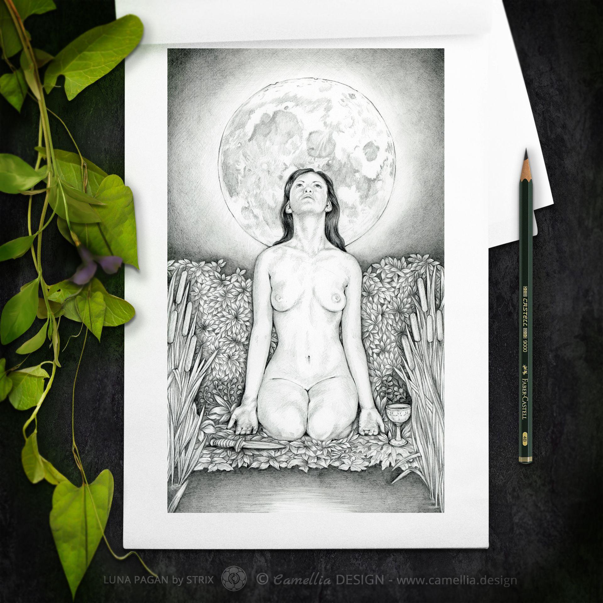 LUNA-PAGAN-pencil-sketch-by-STRIX