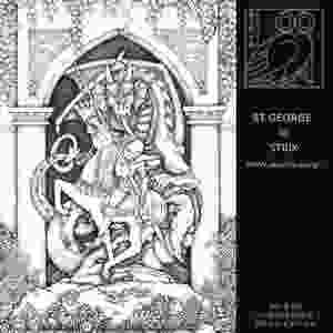 ST GEORGE | Pen and Ink Drawing by STRIX