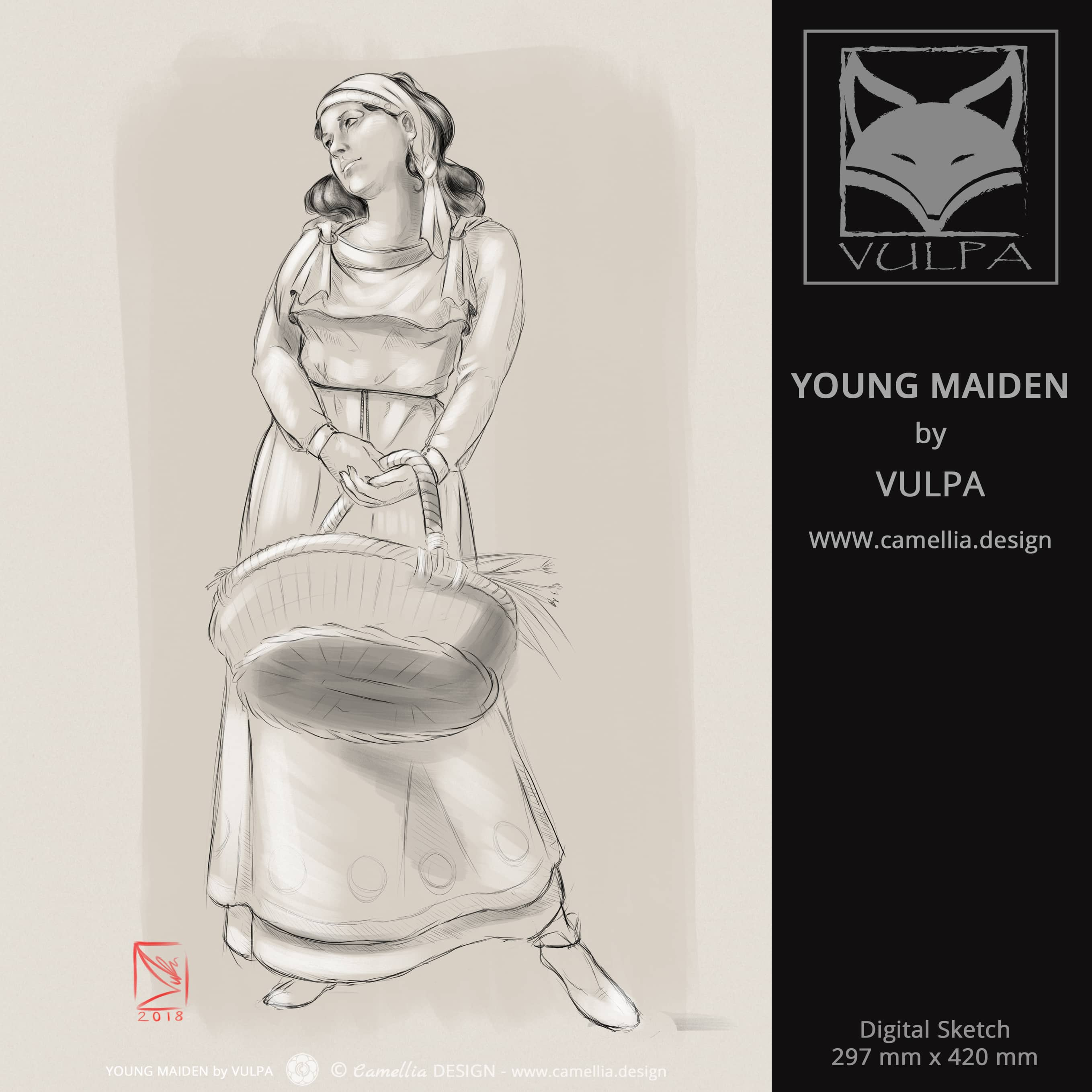YOUNG MAIDEN