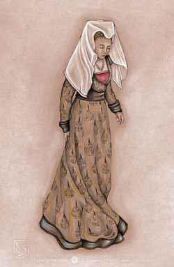 LADY OF THE COURT