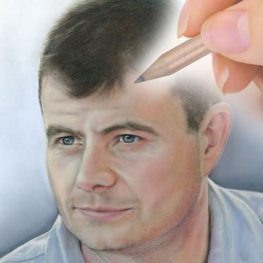 Pastel portrait commission from CAMELLIA DESIGN