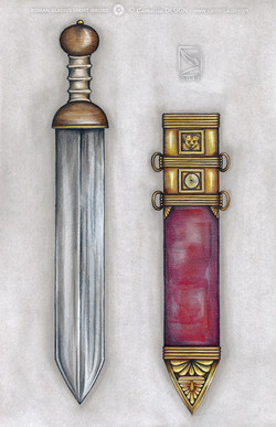 ROMAN GLADIUS SHORT SWORD
