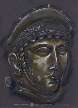 ROMAN FACE HELMET