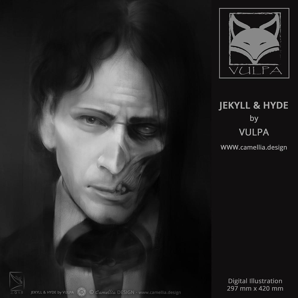 BAILEY IN TJAKYLL & HYDE | Digital Illustration byJAKYLL & HYDE | Digital Illustration by VULPA | Free Download