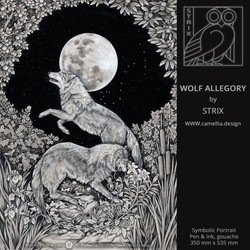 WOLF ALLEGORY