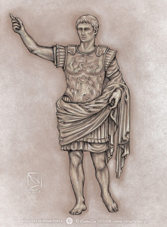 AUGUSRUS OF PRIMA PORTA
