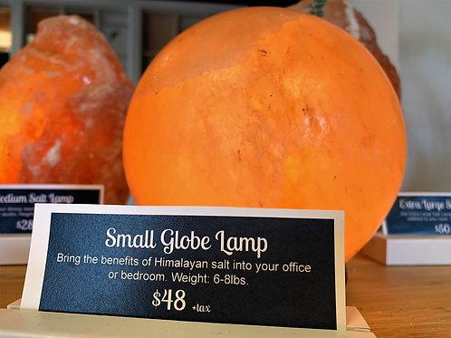 Small Globe Salt Lamp