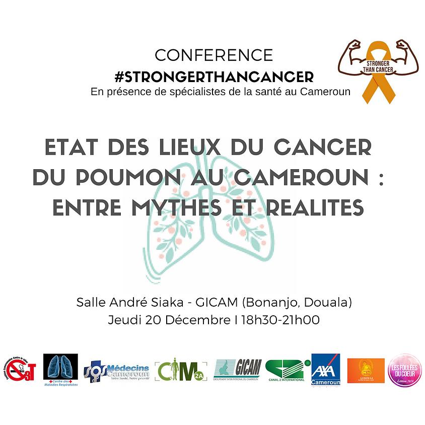 Conférence - Le cancer  du poumon au Cameroun : entre mythes et réalités