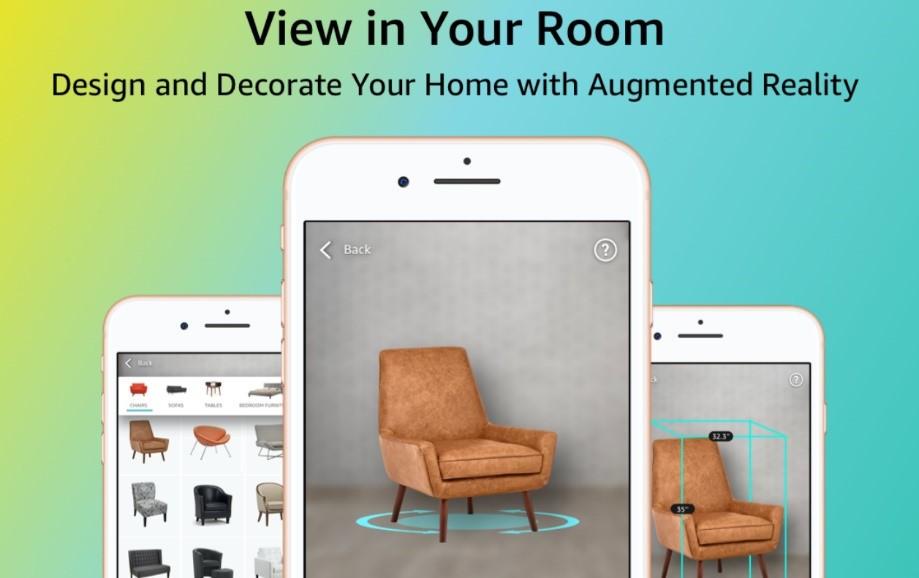 Aplicación de realidad aumentada de IKEA