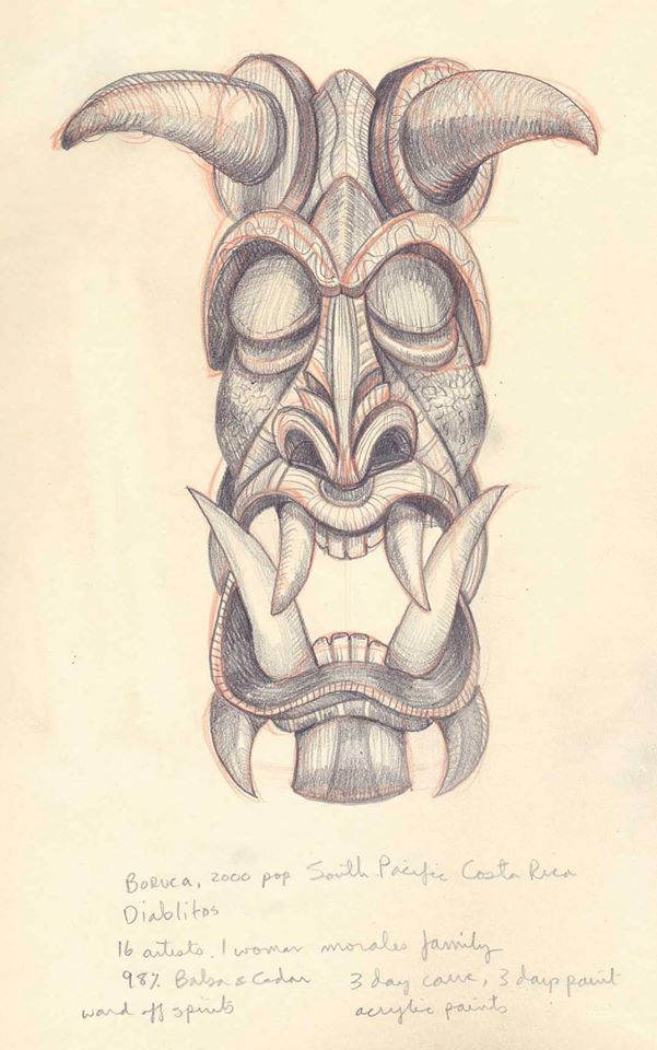 Carved Mask