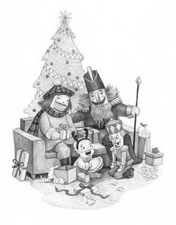 Nutcracker Family Christmas