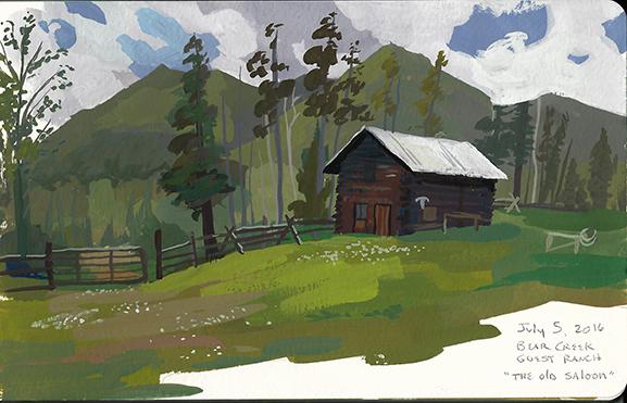 Bear Creek Ranch Barn