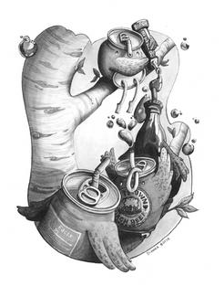 Illustration Process - Final image