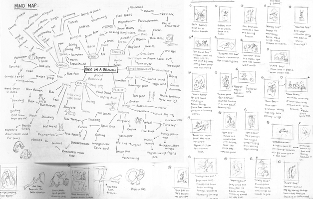 Illustration Process - Ideation