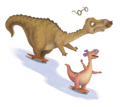 Father's Day Dinoskaters