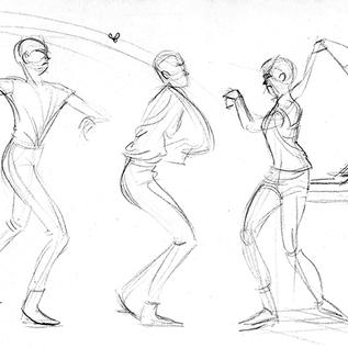 Fly Swatter Gesture Sequence