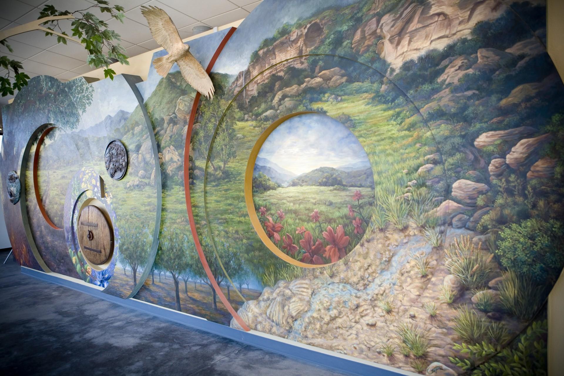 Nix Nature Center Full Circle Mural