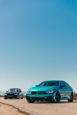BMW 440i and BMW M3