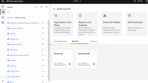 Big new release of Planning Analytics Workspace