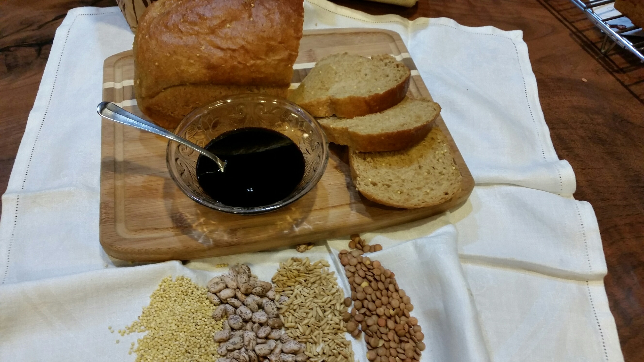 Sprouted Whole Grain Bread Class