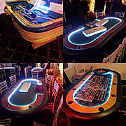 Casino Night Party Californa LED light up
