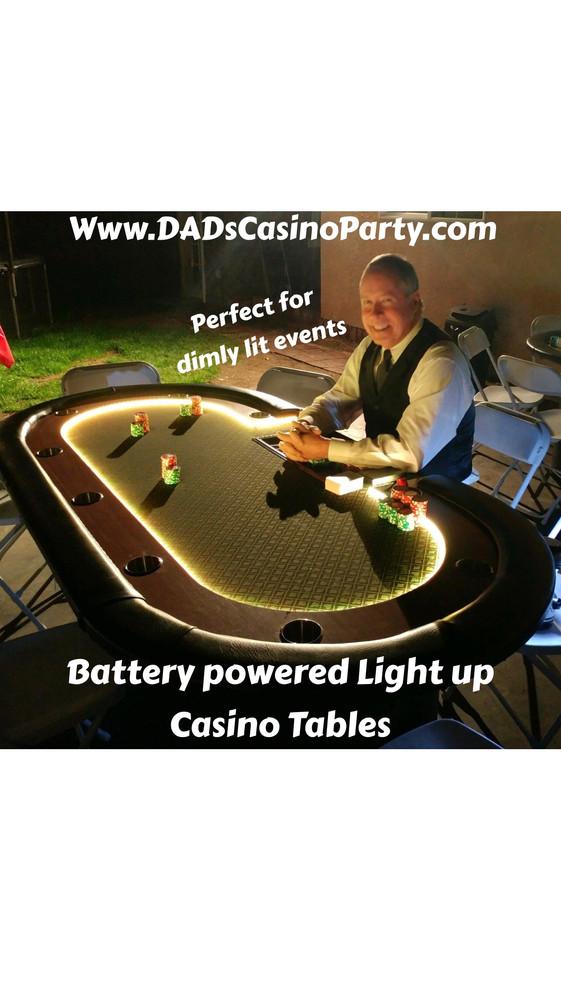 Casino Night Party Rentals & Escape Games