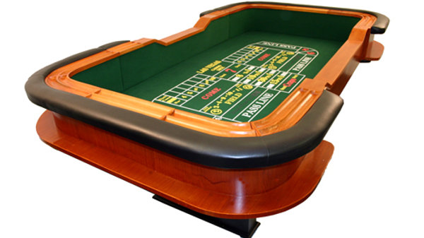Seven Card Tables, One Roulette, One Craps & Dealers